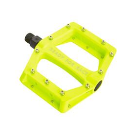 Cube RFR CMPT Flat Pedal neon yellow